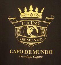 CAPO DE MUNDO tee XL Premium Cigars crown logo T shirt maduro Pennsylvania smoke