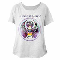 Journey Scarab Eclipse Women's Dolman Top Album Cover Concert Rock Band T Shirt