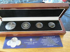 Undated twenty pence prestige coin collection, undated 20p coin set, very scarce
