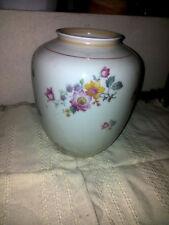 Reichenbach Porzellanmanufaktur- Blumen Vase Porzellan  8 9  Blüten