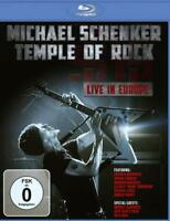 MICHAEL SCHENKER: TEMPLE OF ROCK - LIVE IN EUROPE NEW BLU-RAY