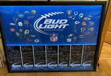 Bud Light All Nfl Teams Lighted Sign - Used
