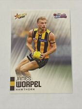 2020 Afl Select Auskick Base Card James Worpel Hawthorn