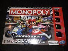 Monopoly Gamer - Jeu de Société - Figurines Mario Kart - E1870 - Neuf