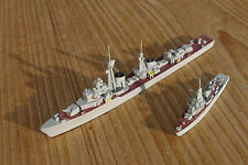 1/1250 russian destroyer SKORY & mine sweeper type 43 soviet navy deck painting