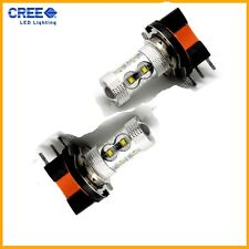 50W H15 CREE LED Daytime Running Lights Bulbs - Audi BMW Mercedes VW Ford