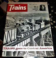 Trains Magazine April 1964 Issue