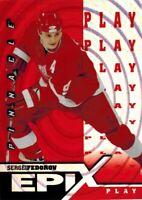 ~Pinnacle Epix 1997-98: Orange Play Card of Sergei Fedorov E5