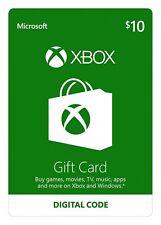 Xbox Live Tarjeta De Regalo De 10 USD - $10 dólares estadounidenses EE. UU. código de crédito Microsoft uno-EE. UU.