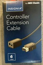 Insignia Controller Extension 6ft Cable For Gaming NES SNES Classic Wii PRO NEW