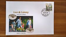 Brief / Letter, Roger Federer, Birth of Twins /Geburt Zwillinge Leo & Lenny 2014