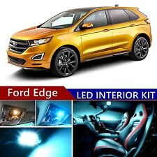 12pcs LED ICE Blue Light Interior Package Kit for Ford Edge 2007-2015