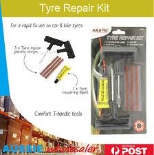 SAS 210633 6 Piece Tyre Repair Kit - Black