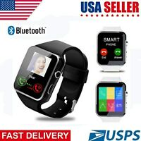 Curved Screen Smart Watch X6 Curved Screen SIM Camera Phone Mate Android iOS