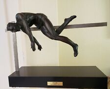 """Clemente Spaminato Sculpture 'High Jump', 1957, 19"""" tall signed limited edition"""