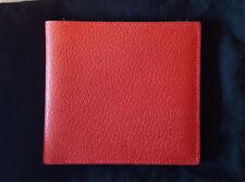 Mens JM WESTON RED Pig Skin Wallet