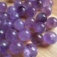 1Pc Natural Amethyst Quartz Stone Sphere Crystal Fluorite Ball Healing Gemstone~