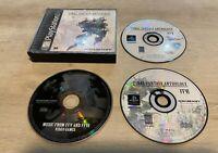 Final Fantasy Anthology Original BLACK PS1 Video Game (Sony PlayStation 1, 1997