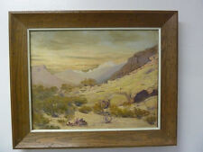 Original  Victor Coleman Anderson Oil Painting New Mexico Landscape