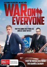 War On Everyone (DVD, 2017) Region 4