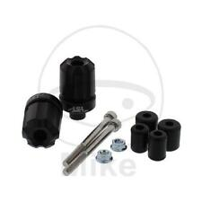 LSL Lenkerenden Aluminium schwarz 18/14mm