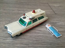 Dinky Toys - Superior Rescuer On Cadillac Chassis - Working Light - Excellent