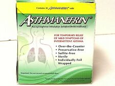 Asthmanefrin Asthma Medication Refill Sealed 30 packages .5ml Exp 2/21