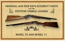 STEVENS VISIBLE LOADER MODELS 70 & 71 - ORIGINAL and NEW PARTS