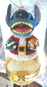 Disney Parks Ornament 2000 Lilo and Stitch Santa Keepsake RARE Hard To Find HTF