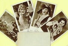 ROSS VERLAG - 1920s Film Star Postcards produced in Germany #3774 to #3852
