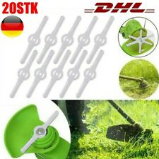 20x Rasentrimmer Ersatz Messer Klingen Für Gartenmäher Und Gras Akku-Trimmer DHL