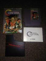 Contra NES CIB Complete In Box Nintendo HTF rare manual box
