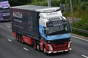 Truck Photos Scottish WH Malcolm Logistics Volvo FH & Tautliner SJ19 OBYsj