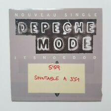 DEPECHE MODE : IT'S NO GOOD (CD Single made in France)
