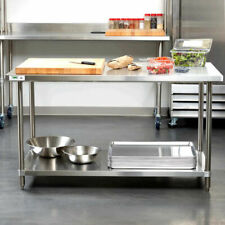 "Heavy Duty 30"" x 60"" All Stainless Steel Work Prep Table Commercial 16 Gauge Nsf"
