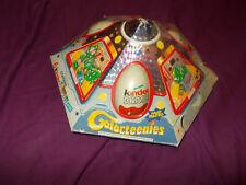 6 x Kinder Sorpresa Uova di cioccolato & TOYS CARD NAVE SPAZIALE OTTOBRE 2000 (SIGILLATO)