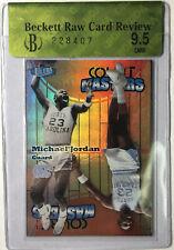 "2011-12 Fleer Retro Ultra Court Masters Michael Jordan BGS 9.5 Raw Review ""RARE"""