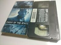 Enemy of the State [Near Mint VHS Tape] Will Smith, Gene Hackman Suspense Movie