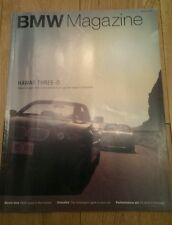 BMW CAR CLUB OWNERS MAGAZINE SPRING 2003 E46 3 SERIES COUPE 760il V12