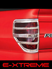 Ford F-150 F150 Chrome Tail Lights Covers Bezel 2009 2010 2011 2012 2013 2014
