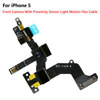 Front Face Back Rear Main Camera Module Flex Cable Replacement for iPhone 5 5S