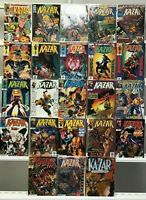KA-ZAR VOL 2 #1 2 3 4 5 6 7 8 9 10 11-20 + ANNUAL #1 1-20 MARVEL COMICS SET LOT