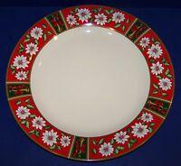 """BEAUTIFUL CHARLTON HALL BY KOBE CHRISTMAS 12 1/4"""" CHOP PLATE/ROUND PLATTER"""