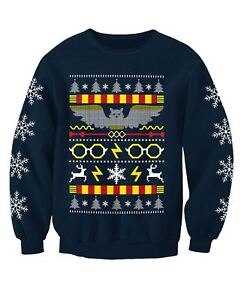 Harry Potter Inspired Childrens Wizard Movie Christmas Jumper Sweatshirt