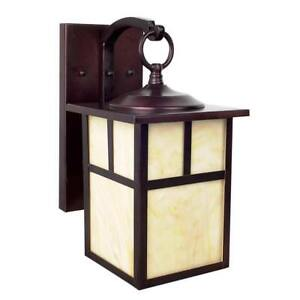 Sunset Lighting F4664-62 11.5 inch Wall Mount  Mission in Rubbed Bronze