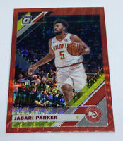 2019-20 Panini Optic JABARI PARKER Red Prizm Wave SP ATLANTA HAWKS #42