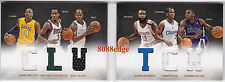 2012-13 PREFERRED BOOKLET SWATCH:KOBE BRYANT/RAY ALLEN/CHRIS PAUL/HARDEN #43/199