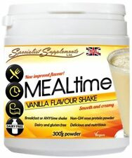 Mealtime Vanilla Meal Replacement Dairy Free Protein Powder - Non-GM Soya 300gm