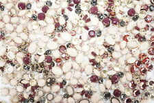Stock Metal Fashion Jewelry w/Rhinestone 1.3lb Assorted Lot of Mixed Limited Old