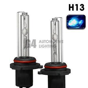 2X NEW HID XENON H13 9008 Headlight HID Bulbs AC 35W 8000K Iceberg Blue